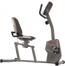 Sunny Health & Fitness Magnetic Recumbent Bike Exercise Bike with Easy Adjustable Seat