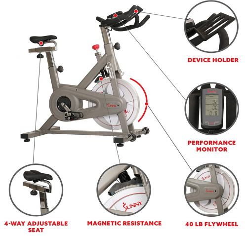 Sunny Indoor Exercise Cycle specs
