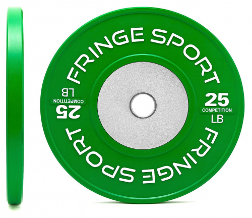 Fringe Sport Bar and Color Bumper olympic weight set