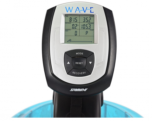 Stamina 'New and Improved' Elite Wave Water Rower monitor