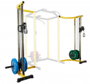 HulkFit Cable Crossover Attachment Multi-Function Adjustable Power Cage