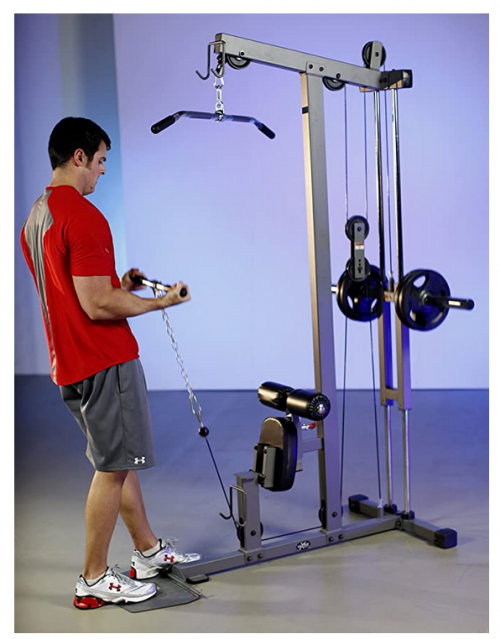 XMark Heavy Duty Lat Pulldown and Low Row Cable Machine 2