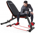 HARISON Weight Bench Adjustable Utility Exercise Workout Bench