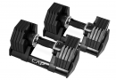 CAP Barbell Adjustabell Dumbbell 50-Pound Pair