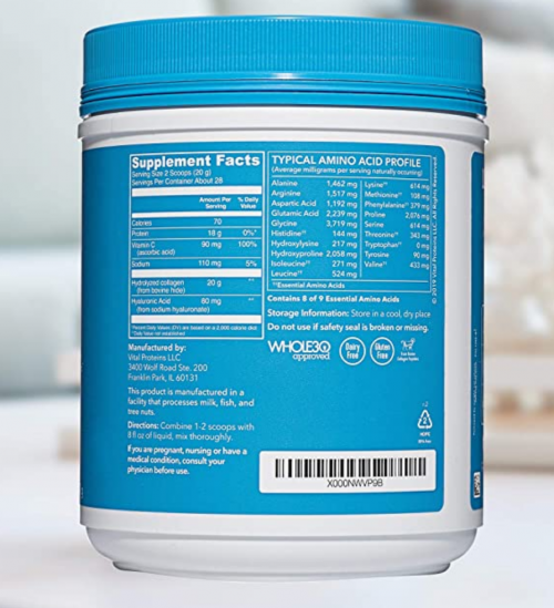 Vital Proteins Unflavored Collagen Peptides 2