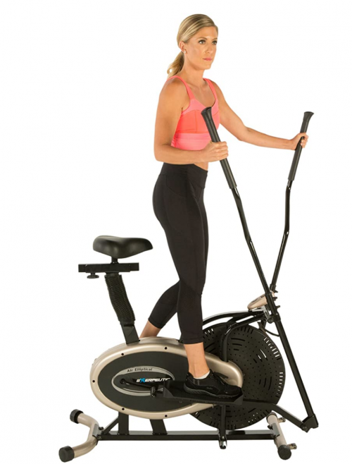 Exerpeutic Gold Elliptical and Exercise Bike Dual Trainer 2