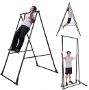KT Toes Don't Touch Ground Foldable Free Standing Pull Up Bar