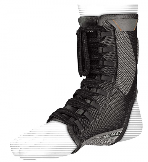 Compression Ankle Brace - Shock Doctor 849 Ultra Gel Lace Up Ankle Support