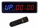 BTBSIGN LED Interval Timer Count Down/Up Clock Stopwatch with Remote for Home Gym Fitness