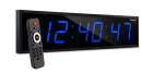 """Ivation Huge 24"""" Inch Large Big Oversized Digital LED Clock with Stopwatch"""