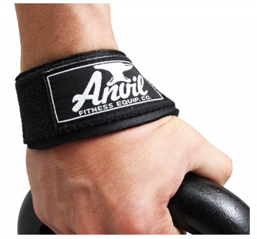 """""""Anvil Fitness Lifting Straps - Weightlifting Hand Bar Wrist Support Hook Wraps"""