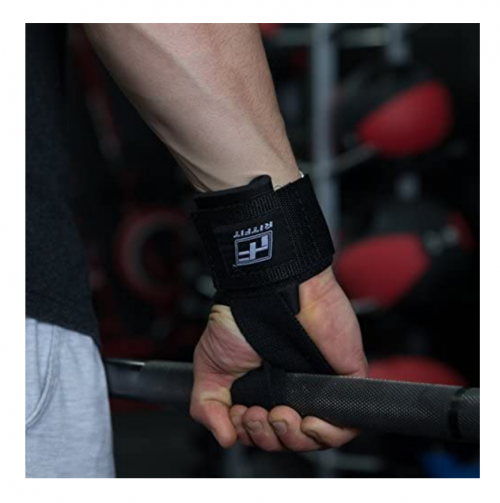 RitFit Lifting Straps + Wrist Protector for Weightlifting