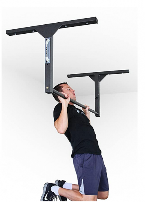 Stud Bar: Ceiling or Wall Mountable Pull Up Bar