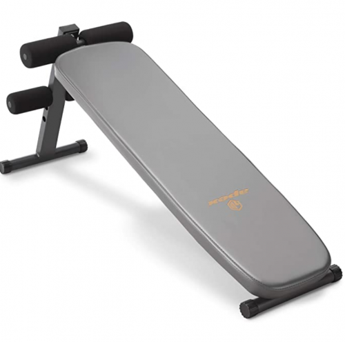 Apex Utility Bench Slant Board Sit Up Bench Crunch Board Ab Bench for Toning and Strength