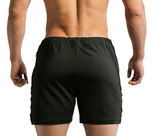 Tough Mode Mens Fitted WOD Shorts