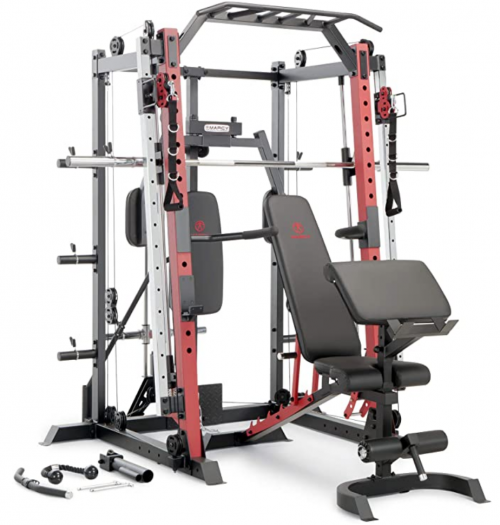 Marcy Smith Machine Cage System Home Gym Multifunction Rack