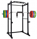 Power Rack Power Cage Workout Station Home Gym for Weightlifting