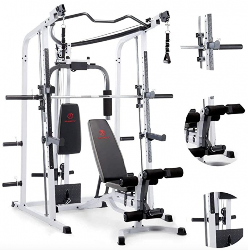 Marcy Smith Cage Workout Machine Total Body Training Home 2