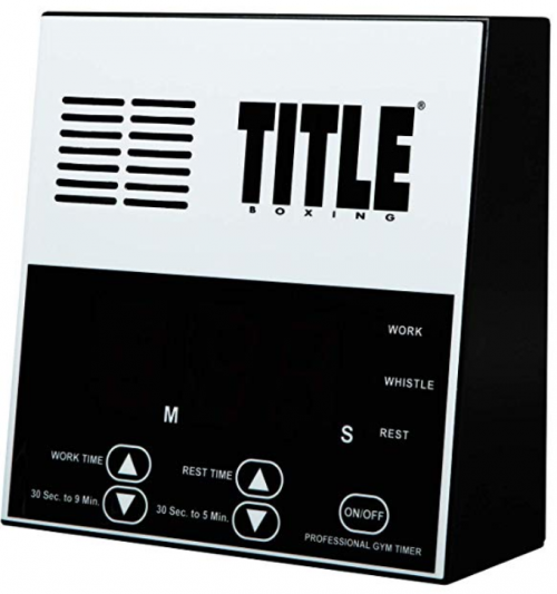 TITLE Boxing Pro crossfit timer