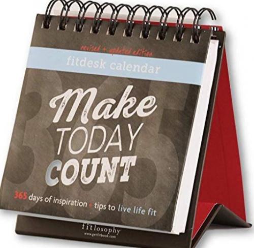 Fitlosophy Desk Calendar