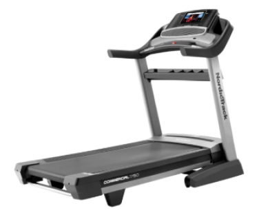 The NordicTrack 1750 treadmill features iFit integration.