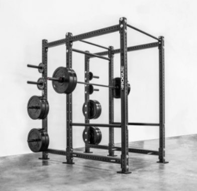 The Rogue RML-690 is compatible with any weight bench.
