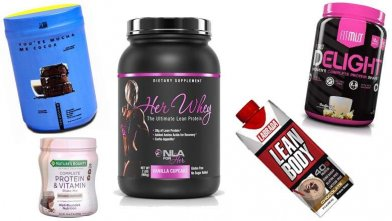 The Top 10 Protein Supplements for Women for weight training